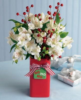 Christmas Flower Arrangements And Centerpieces